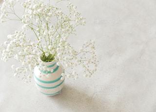 テーブルの上の花の花瓶の写真・画像素材[1287800]