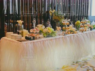 香港リッツカールトンでの結婚式の写真・画像素材[1313373]