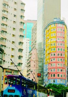 街でバスの写真・画像素材[1313381]