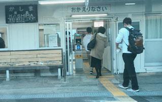 駅のホームの写真・画像素材[1806647]