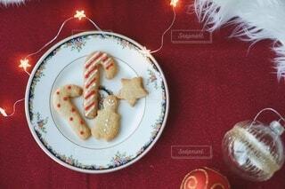 クリスマスのジンジャークッキーの写真・画像素材[3949704]