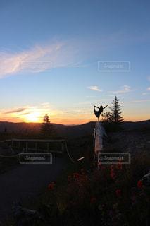 夕日の写真・画像素材[1390365]