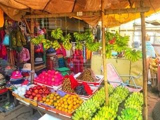 フルーツ市場の写真・画像素材[4839655]