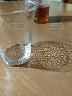 空っぽのグラスの写真・画像素材[4855463]