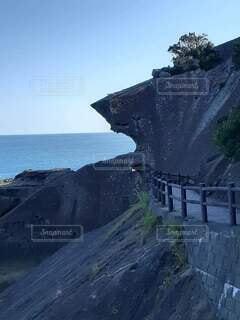 獅子岩の写真・画像素材[4846103]