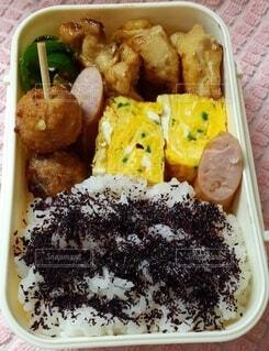 ゆかりご飯のお弁当の写真・画像素材[4844523]