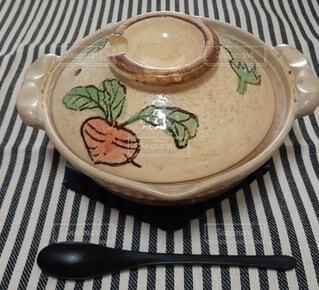 土鍋でご飯の写真・画像素材[4872926]