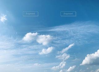 空の雲の写真・画像素材[4844166]