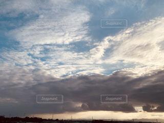 空の層の写真・画像素材[4857687]
