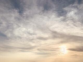 一面の雲の写真・画像素材[4924406]