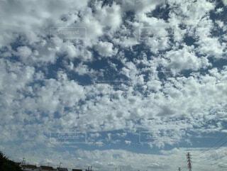 空の雲の群の写真・画像素材[4924404]