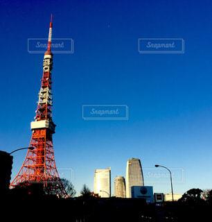 冬晴れの東京タワー - No.990700