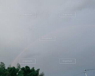 空の虹の写真・画像素材[4845713]