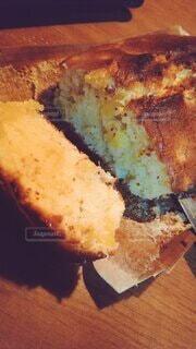 家で作ったパウンドケーキの写真・画像素材[4845714]