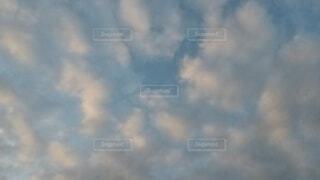 青空の雲の写真・画像素材[4873327]