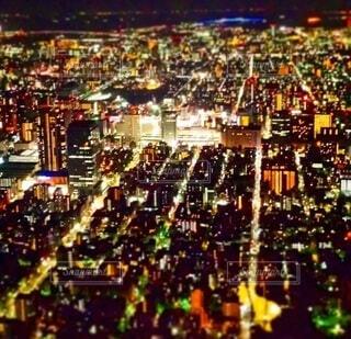 東京の夜景の写真・画像素材[4852434]