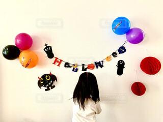 ハロウィン飾り付けの写真・画像素材[4869936]
