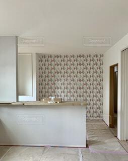 キッチン壁紙の写真・画像素材[4881489]