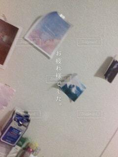 冷蔵庫のクローズアップの写真・画像素材[4934494]