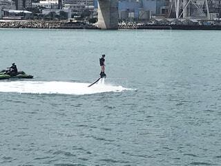 水上スキー10の写真・画像素材[4859410]
