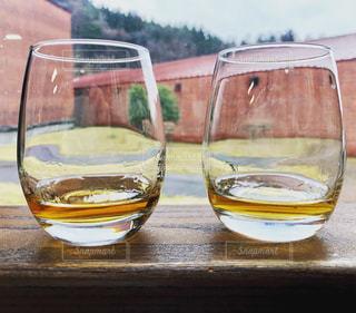 ウイスキーの飲み比べの写真・画像素材[2355133]