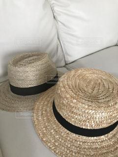 麦わら帽子の写真・画像素材[1035820]