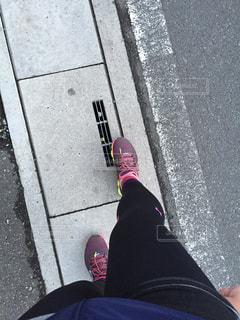 道を歩くの写真・画像素材[1035853]