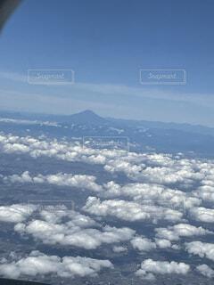 空の雲の群の写真・画像素材[4862386]