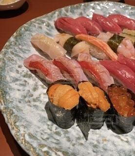 ちょっと贅沢お寿司の写真・画像素材[4861311]