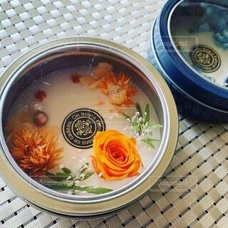 アロマワックス缶の写真・画像素材[4873214]