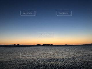 美しい夕焼けの写真・画像素材[4866107]