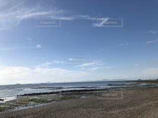 青空と海の写真・画像素材[4870048]