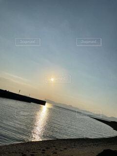 夕日の写真・画像素材[4880121]