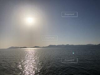 海と空の写真・画像素材[4888000]