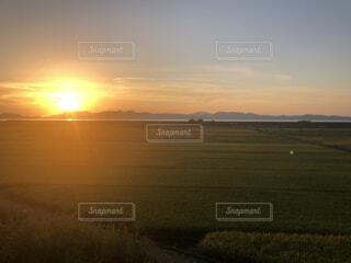 夕日の写真・画像素材[4897007]
