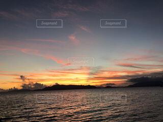 夕日の写真・画像素材[4911840]