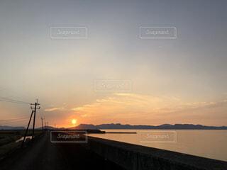 夕日の写真・画像素材[4921272]