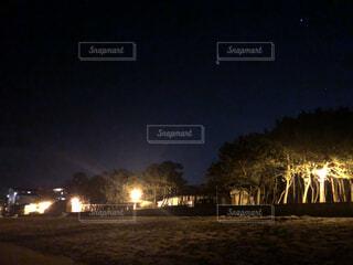 夜景の写真・画像素材[4863160]