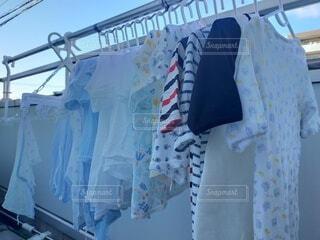 世界一幸せな洗濯の写真・画像素材[4863311]