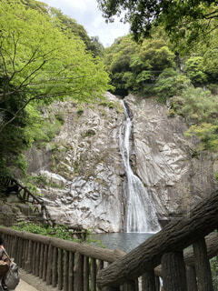 布引の滝の写真・画像素材[4864154]