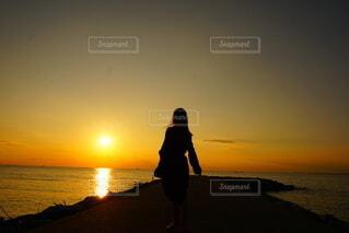 夕焼けの写真・画像素材[4875933]