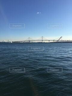 大きな水域の写真・画像素材[4863276]