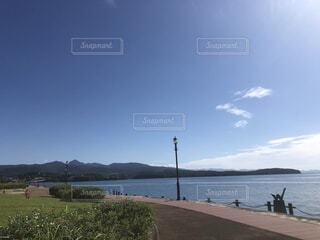 大きな水域の写真・画像素材[4876435]