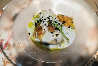 食べ物の皿の写真・画像素材[4866778]