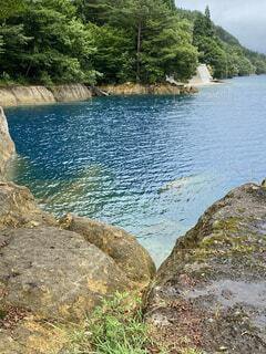 綺麗な湖の写真・画像素材[4863195]