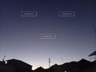 秋の夕暮れの写真・画像素材[4894477]