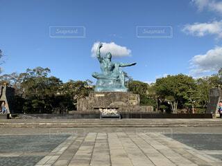 平和記念像の写真・画像素材[4875576]