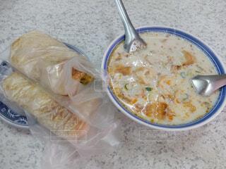 台湾の朝ご飯の写真・画像素材[4872968]