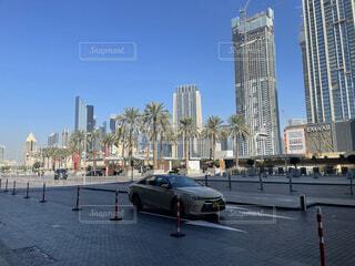 都市の高い建物の写真・画像素材[4870632]