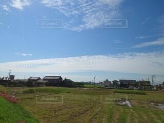 流れる雲の写真・画像素材[4880886]